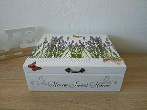 Krabičky - Krabicka na čaj - 10909522_