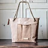 Veľké tašky - Kožená kabelka Casual bag No.2 - 10910286_