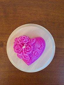 Darčeky pre svadobčanov - Svadobná sviečka - 10909782_