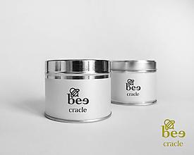 Svietidlá a sviečky - Be(e) - sviečka zo včelieho vosku štýlovo - 10910203_
