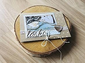 Papiernictvo - Svadobná pohľadnica na peniaze - 10910734_