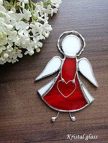 Dekorácie - Anjelik na zavesenie - 10909984_