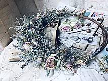 """Dekorácie - Prírodný veniec """"Lacewing"""" - 10909212_"""