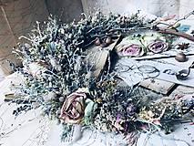 """Dekorácie - Prírodný veniec """"Lacewing"""" - 10909219_"""