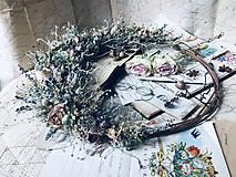 """Dekorácie - Prírodný veniec """"Lacewing"""" - 10909222_"""