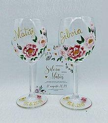 Darčeky pre svadobčanov - Svadobné poháre V. - 10911024_
