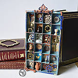 Dekorácie - Magická skrinka mini vintage - 10910761_