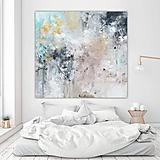 Obrazy - abstraktný obraz, Denná obloha, 140x130 - 10908997_