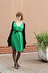 Šaty - Sexi letné šaty z chladivej viskózy - 10912671_