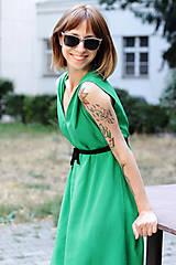Šaty - Sexi letné šaty z chladivej viskózy - 10912689_