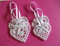 Dekorácie - *** Srdiečka pre svadobčanov - farba schampagne *** - 10912564_