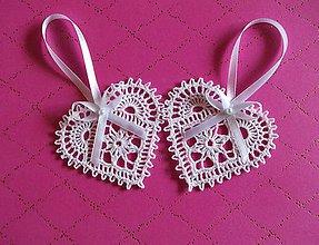 Dekorácie - *** Srdiečka pre svadobčanov - farba schampagne *** - 10912569_