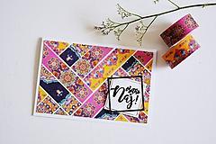 Papiernictvo - Gratulačný pozdrav - ornamenty - 10911366_