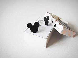 Šperky - Manžetové gombíky Mickey Mouse - 10913318_