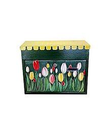 Nádoby - tulipánová zelená - 10913391_