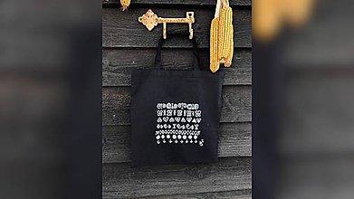 Nákupné tašky - ♥ Plátená, ručne maľovaná taška ♥ - 10912482_