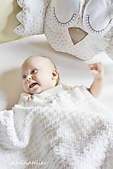 Textil - detská deka - 10913984_