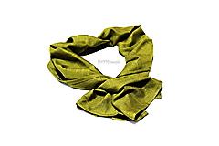 zelená šatka