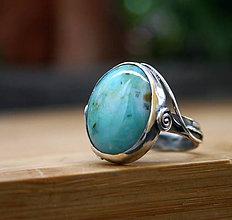Prstene - Morská Pena - strieborný prsteň - 10913014_