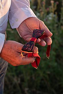 """Doplnky - Pánsky motýlik """"s vášňou"""" - 10912651_"""