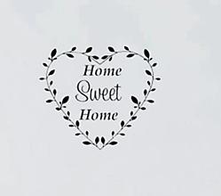 Papier - Nálepka Home Sweet Home - 10913002_