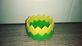 Krabičky - Papierová šperkovnica, miska na cukríky či iné drobnosti - 10912395_