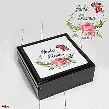 Krabičky - Šperkovnica - svadobná - 10913568_