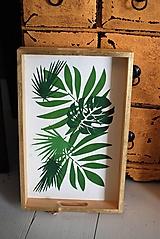 Nádoby - Podnos Botanical - 10911259_