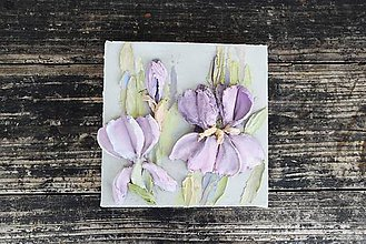 Obrazy - iris - sculpture painting - 10914252_