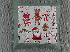 Úžitkový textil - Susugo Obliečka na vankúš - Vianoce. - 10911490_