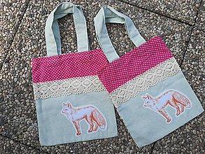 Nákupné tašky - Zero Waste Ekologická detská taška. - 10913777_