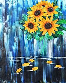 Obrázky - Sunflower-olejomaľba - 10916283_