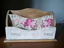 Krabičky - Carte Postale Paris morený - 10916038_