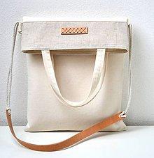 Iné tašky - Plátená taška Minimal 2 - 10916105_