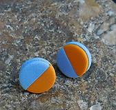Náušnice - napichovačky pastelky - 10915560_
