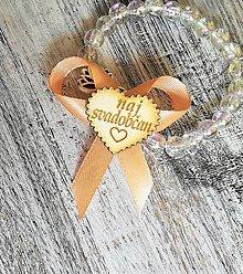 Pierka - Svadobné pierko - svadobčania - 10915420_