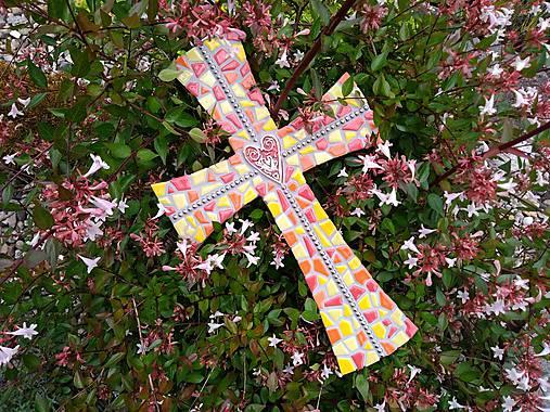 Kríž perličkový II.