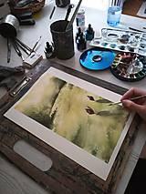 Obrazy - zlatá chvíľa - 10916731_
