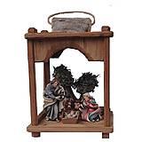 Dekorácie - Barokový lampáš s Betlehemom - 10914786_