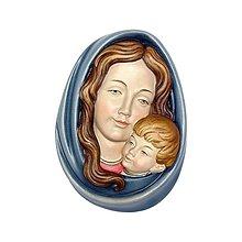Socha - Madona a dieťa reliéf - 10915275_