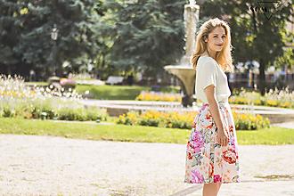 "Sukne - Sukňa "" grandi rose"" - 10916109_"