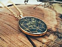 Náhrdelníky - Nosím si lúku so sebou - náhrdelník  - 10915005_