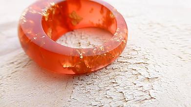 Prstene - Živicový prsteň - 10915406_