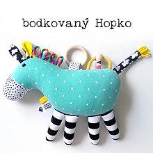 Hračky - Koník Hopko - 10914439_