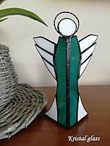 Svietidlá a sviečky - Anjel - svietnik - 10916184_