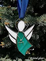 Dekorácie - Anjelik na zavesenie - 10916285_