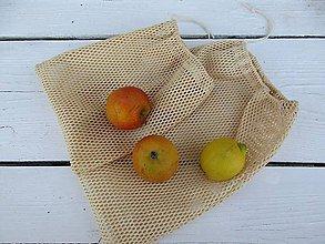 Úžitkový textil - nákupné vrecká s biobavlny - 10916577_