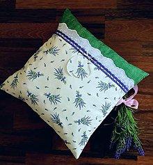 Úžitkový textil - Provence vankúšik - 10915376_