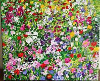 Obrazy - Lúka - farebný bozk - 10915252_