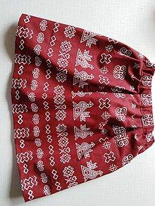 Sukne - sukňa folk čičmanský vzor - 10915663_